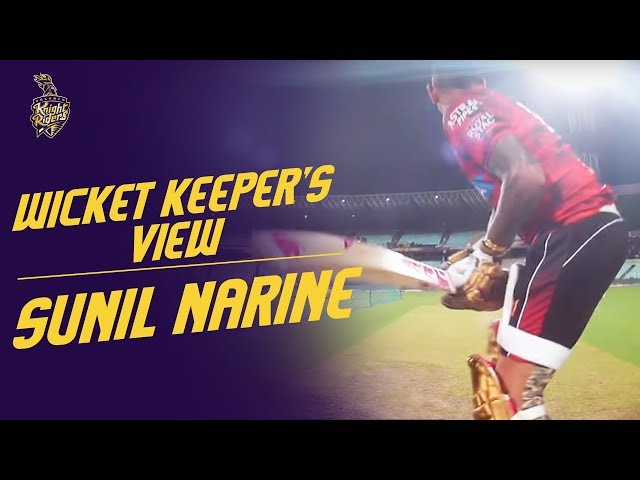 Sunil Narine wicketkeeper's view   KKR Hai Taiyaar   Procus