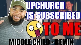 "{{ REACTION }} Upchurch ""Middle Child"" (Bored) - HE SUBSCRIBED TO ME YALL"