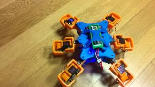 3D printed Hexapod with Arduino Mega