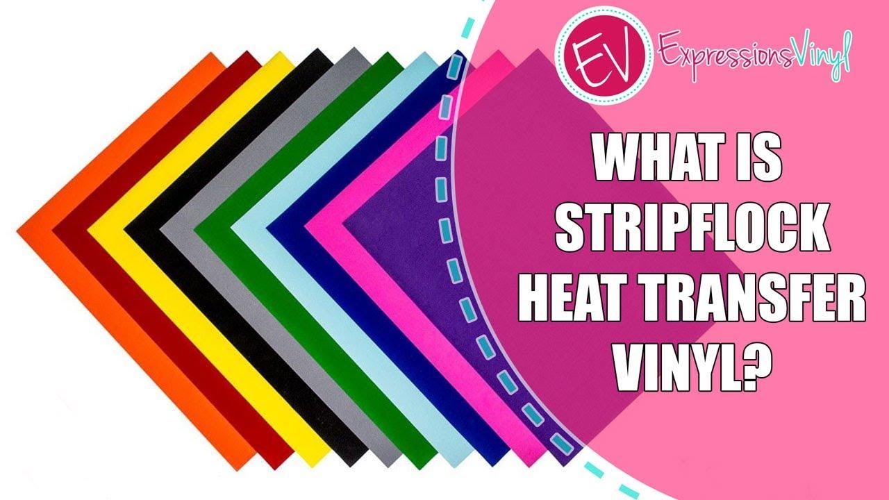 Stripflock Heat Transfer Vinyl - Learn About It Now