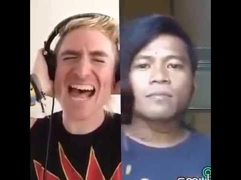 Sumpah Lucu!!! Duet Sama Bule Yoncha Nyanyi Lagu Barat