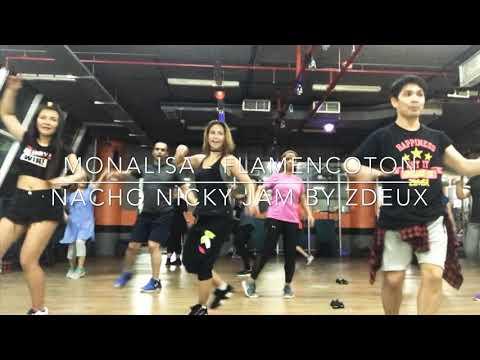 Monalisa   Nacho Nicky Jam   Flamencoton   Zumba®Fitness   By ZDeux