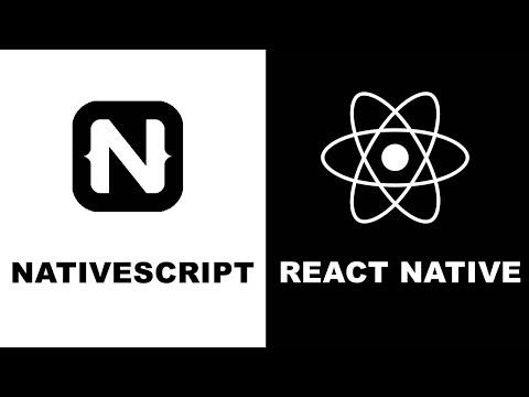 NativeScript VS React Native 2019 | performance | community | plugins