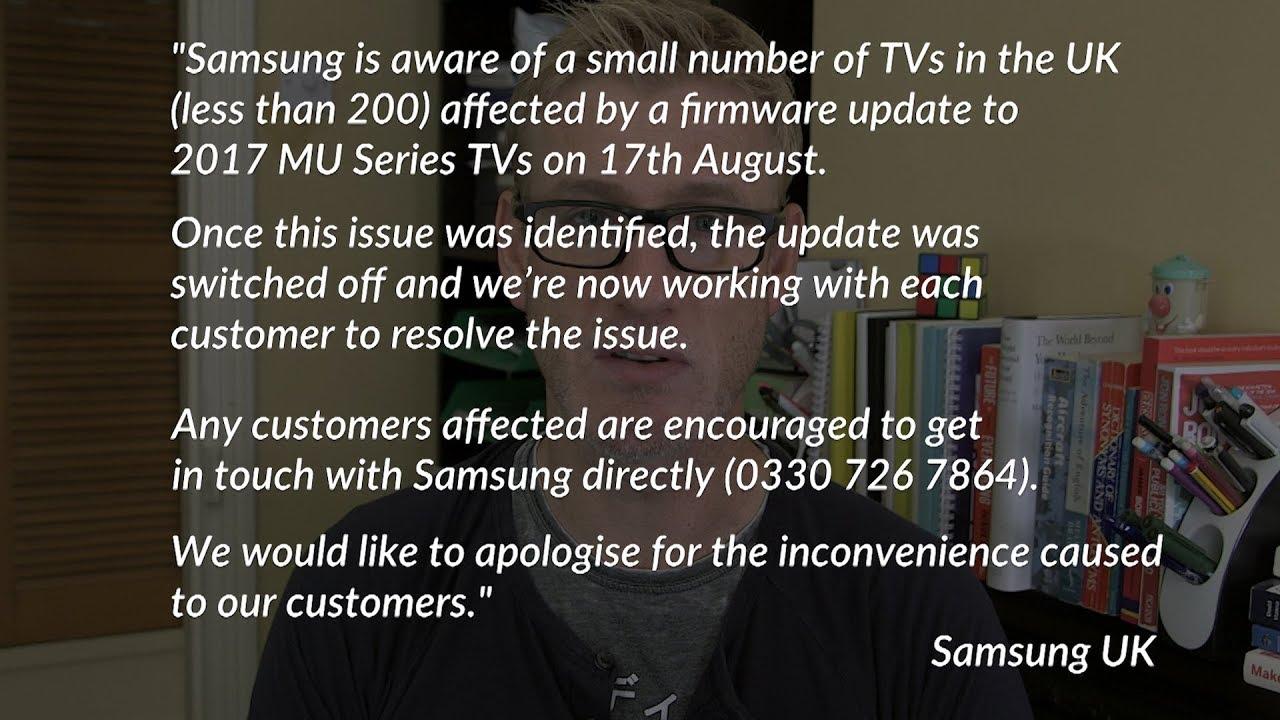 samsung firmware smart tv update