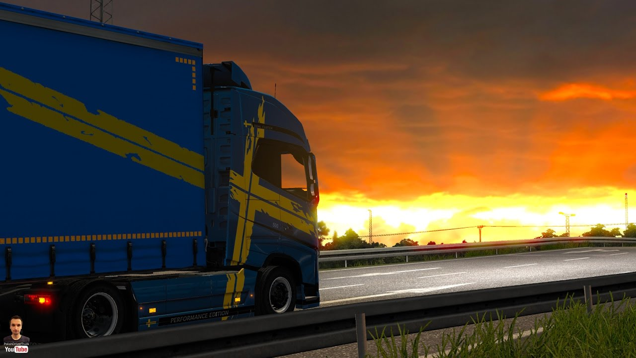 Ets2 1 27   PDT   Realistic Graphics Mod v1 7 9 – by Frkn64