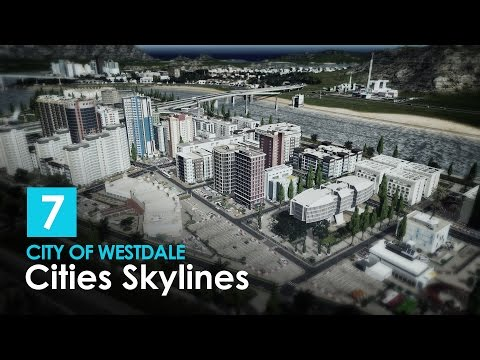 Cities Skylines: City of Westdale - EP7 Part 2 - Island Detailing