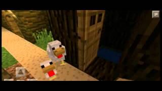 "Minecraft PE фильм ""Домик в деревне"""