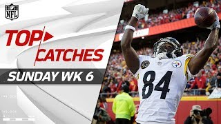 Top Catches from Sunday | NFL Week 6 Highlights