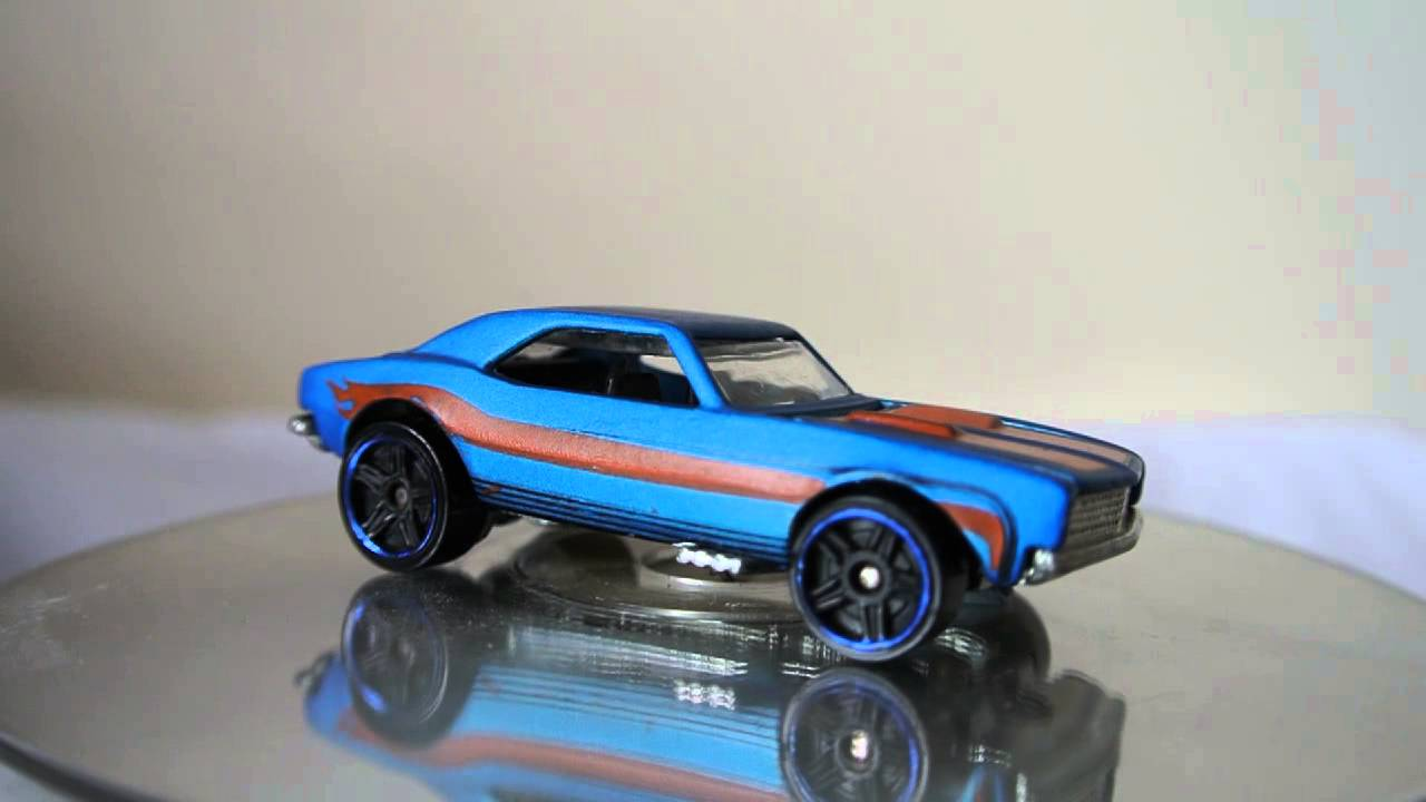Hot Wheels 1967 Chevy Camaro in blue - YouTube