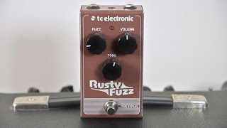 TC Electronic Rusty Fuzz Pedal and a Fender Blues Junior