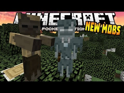 NEW MOBS COMING in MCPE 0.15.0!!! - Husk & Stray Gameplay - Minecraft PE (Pocket Edition)
