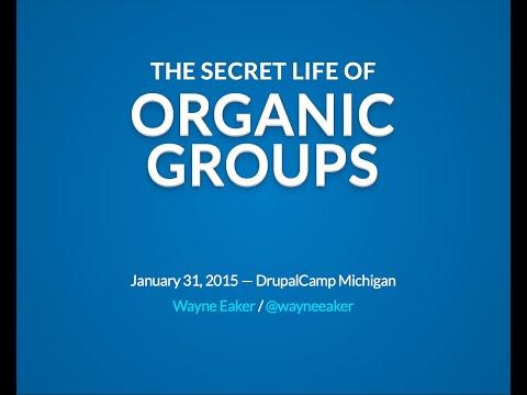 The Secret Life of Organic Groups
