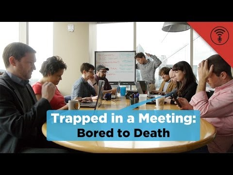Bored to Death   Trapped in a Meeting #24