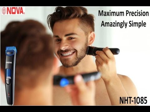NOVA NHT-1085 Profesional Trimmer Unboxing