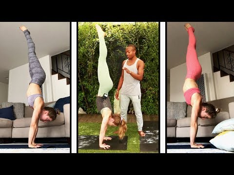 How to HANDSTAND in A Week!