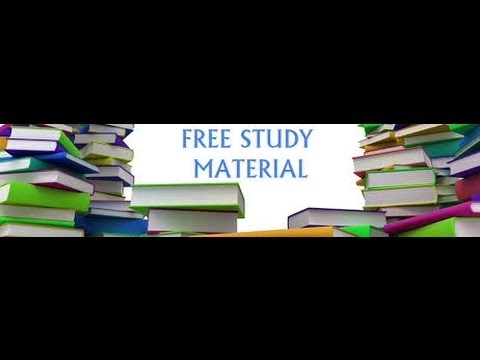 GATE STUDY MATERIAL FREE DOWNLOAD for gate aspirants, Hand written notes also available
