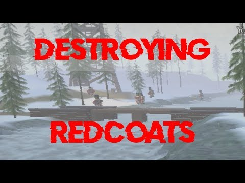 Roblox - Northern Frontier: Destroying HBC