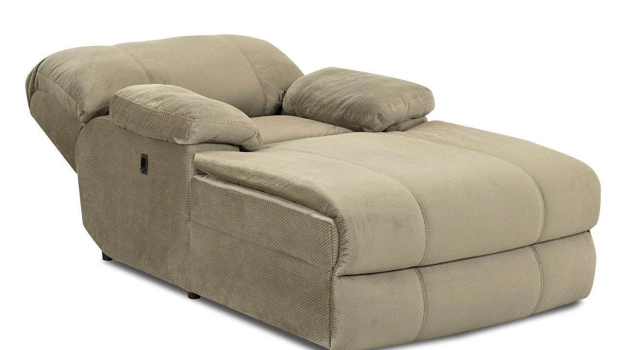 Oversized Chaise Lounge Chair - YouTube