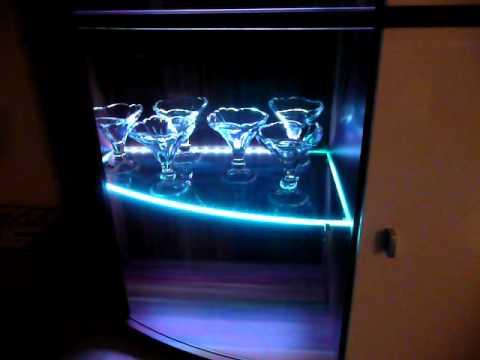 Ikea Dioder - Glasbodenbeleuchtung RGB - YouTube