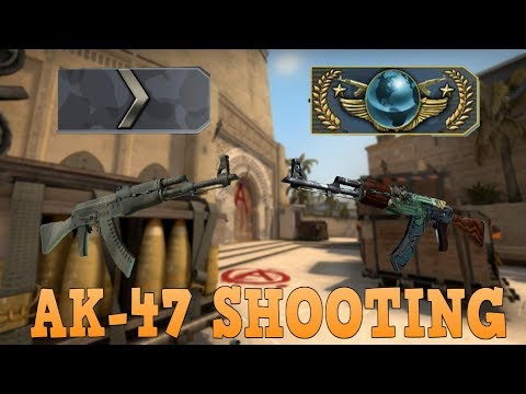 Silver 1 to Global Elite ★ AK-47 Shooting