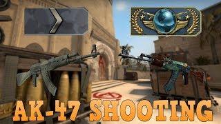 Silver 1 to Global Elite ★ AK-47 Shooting