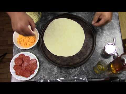 Easy Five-Component Tortilla Pizzas
