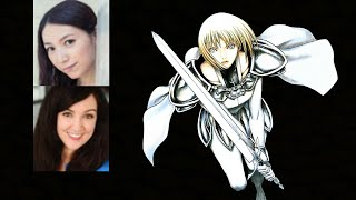 Anime Voice Comparison- Clare (Claymore)