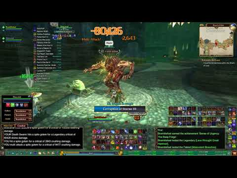 EQ 2 (Everquest II) Fury solo's shard of hate to first boss!