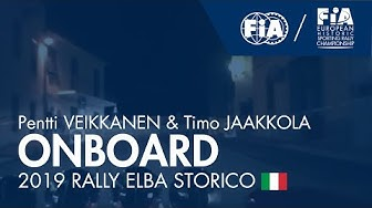 #EHSRC - Rally Elba Storico - Onboard with Pentti Veikkanen and Timo Jaakkola