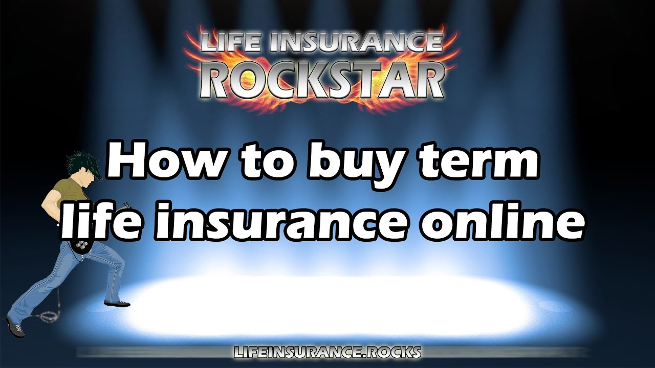 How to buy Term Life Insurance online - YouTube