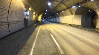 BMW S1000RR in the tunnel