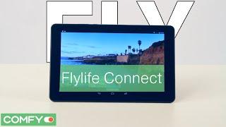 Fly life Connect  2 - тонкий  планшет - Видеодемонстрация от Comfy