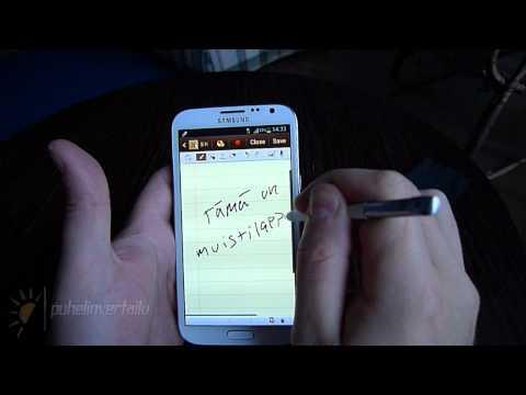 Samsung Note II Hands-on