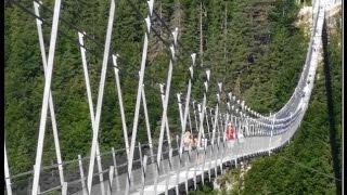 Highline 179  Hängebrücke / suspension bridge / puente colgante