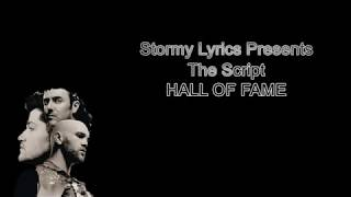 The Script - Hall of Fame ft. will.i.am [lyric video]