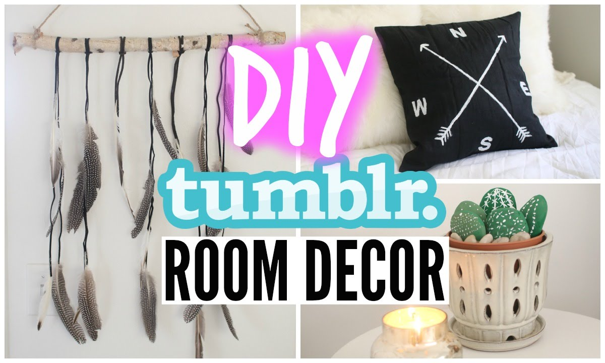 Diy tumblr room decor for cheap youtube - Tumblr rooms ideas diy ...