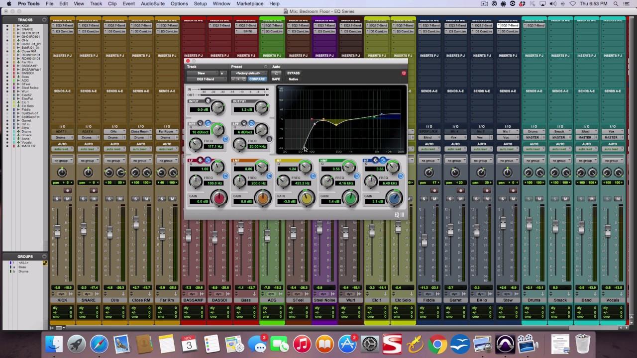 Use Parametric EQ settings (like a boss!) - The Recording