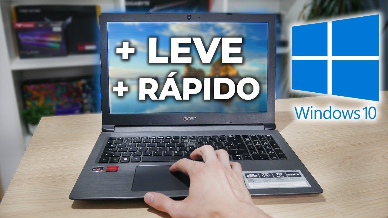 WINDOWS 10 MAIS RÁPIDO E LEVE PRA JOGOS E TRABALHO COM 5 DICAS PRÁTICAS (PC E NOTEBOOK)