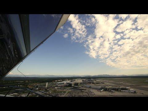 05 Daniele. Air Traffic Controller. ENAV Control Tower at Malpensa Airport
