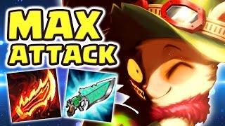 THE SWEETEST REVENGE | MAX ATTACK SPEED RAGEBLADE TEEMO JUNGLE - Nightblue3