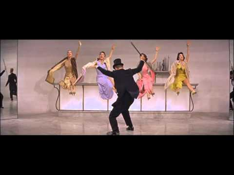 Ritz Roll & Rock silk stockings fred astaire