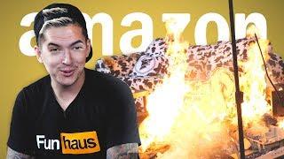 SALT SHOTGUN AND FIRE SURPRISES • AMAZON PRIME TIME