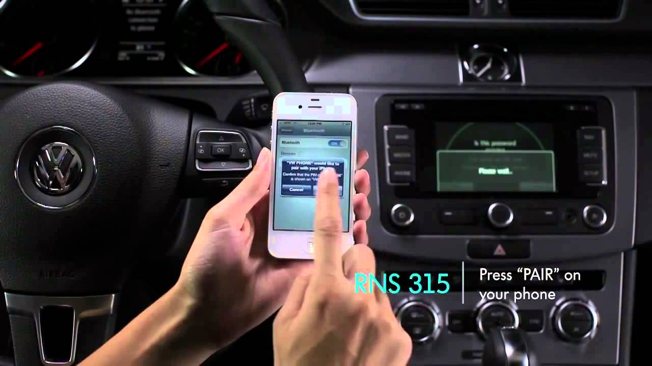 How To Use A 2013 Vw Bluetooth Youtube
