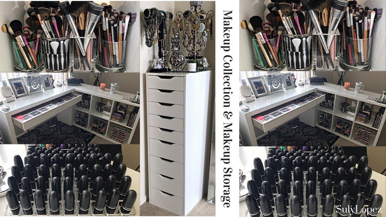 Makeup Collection u0026 Affordable Makeup Storage [SulyLopez] 2017. & Makeup Collection u0026 Affordable Makeup Storage [SulyLopez] 2017 ...