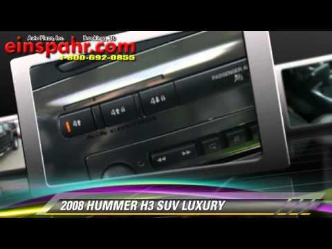 Used 2008 Hummer H3 Suv Luxury Brookings Youtube