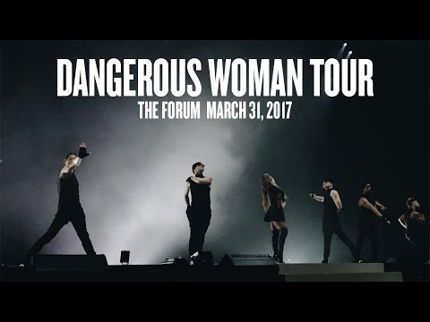 Dangerous Woman Tour Highlights FRONT ROW (The Forum, Inglewood CA 3/31/17)