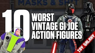 Top 10 Worst Vintage GI Joe Action Figures | List Show #38