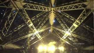 tour of the eiffel tower lifts/elevators - part 3 of 3 (night visit)