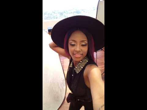 Vanessa Mdee - Samsung Mobile Tanzania Photo Shoot