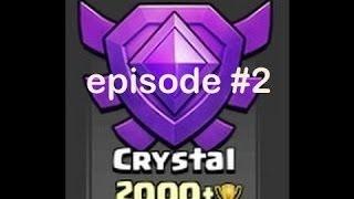 Clash of Clans greek - trophy push - 2000 trophies - episode 2